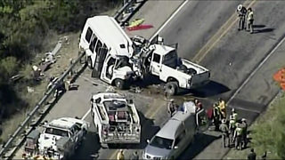 NTSB to begin probe of Texas bus-truck crash that killed 13