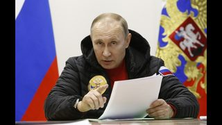 Putin: Criticism of Russia protest arrests is