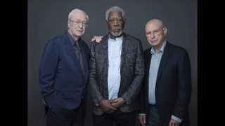 Q&A: Freeman, Caine and Arkin on aging as actors