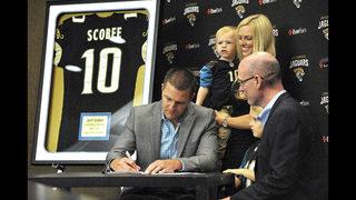 Josh Scobee signs with Jaguars, retires after 12 NFL seasons