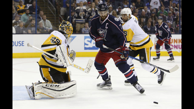 Blue Jackets beat Penguins 5-4 to avoid sweep | WSB-TV