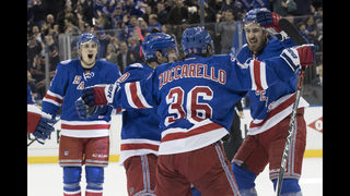 Zuccarello, Rangers beat Canadiens 3-1 to reach East semis