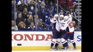 Caps win tight series over Leafs to set up rematch with Pens