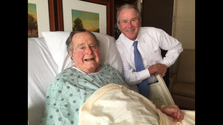 Doctors to keep George HW Bush in hospital a few more days