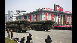 North Korea quiet amid expectation of missile follow-up