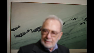 German artist Gerhard Richter opens retrospective in Prague