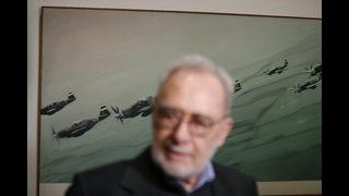 German artist Gerhard Richter opens retrospective in Prague
