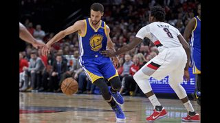 Warriors move on with a sweep of the Trail Blazers