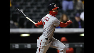 Turner hits for cycle, Nationals beat Rockies 15-12