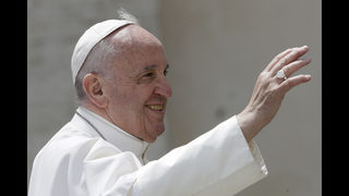 Pope warns powerful to act humbly or risk ruin in TED talk