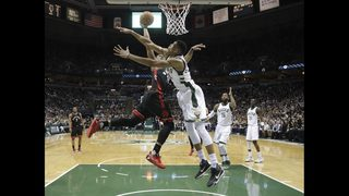 Whew! Raptors blow 25-point lead, but beat Bucks 92-89
