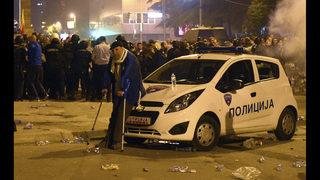 Macedonian violence elicits diverging international response