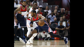 John Wall scores 42 points, Wizards knock out Hawks 115-99