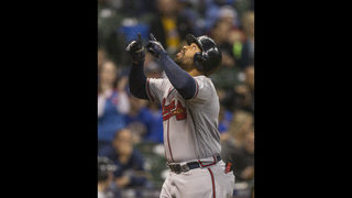 Kemp homers 3 times, Braves beat Brewers 11-3