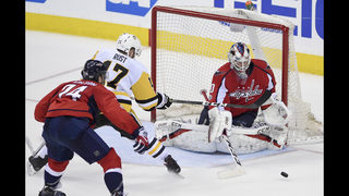 Capitals replace Holtby in goal for 3rd period of Game 2