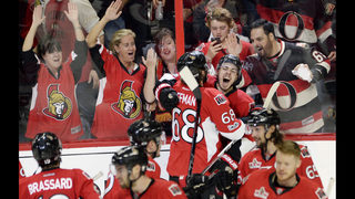 Pageau gets fourth goal in 2OT to lift Sens over Rangers 6-5