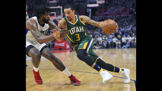 Jazz flatten Clippers 104-91, win 1st-round series 4-3