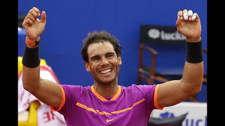 Nadal beats Thiem to win 10th title in Barcelona