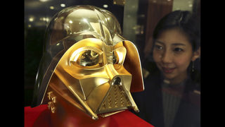 Tokyo jeweler offers gold Darth Vader masks for $1.4 million