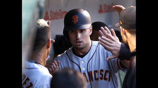 Panik homers as Giants beat Lackey, Cubs 6-4