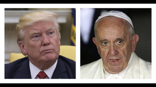 Trump, Francis: After clashing, a search for common ground