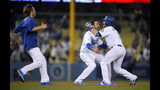 Forsythe, Dodgers win it in 13th after Kershaw duels Lynn