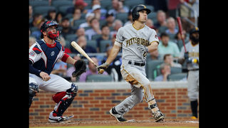 Pirates rally in 9th, erupt in 10th to beat Braves 12-5
