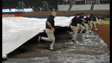 After 3-hour rain delay, Adams lifts Braves over Pirates