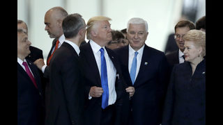 Trump pushes aside Montenegro leader _ who calls it natural