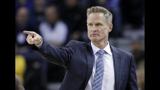 Warriors coach Steve Kerr not yet ready to return to bench
