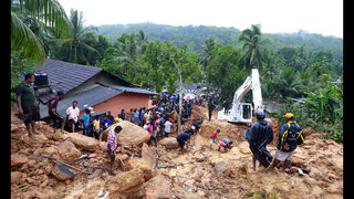 Sri Lanka confirms 100 dead in mudslides; 99 missing
