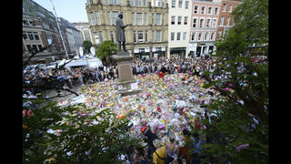 The Latest: Head of world track attends Manchester event