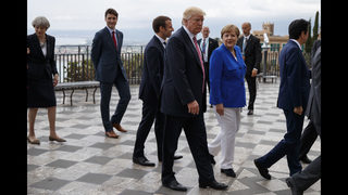 Europeans making sales pitch to Trump on climate accord