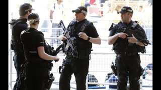 UK police arrest 2 more bomb suspects, raising total to 11