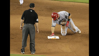 LEADING OFF: Trout gets checked, Price makes season debut