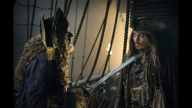 Pirates Of The Caribbean Tops Box Office Baywatch