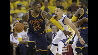 Monster mash: LeBron James undaunted by beastly Warriors