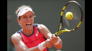 The Latest: No. 7 seed Konta out in French Open