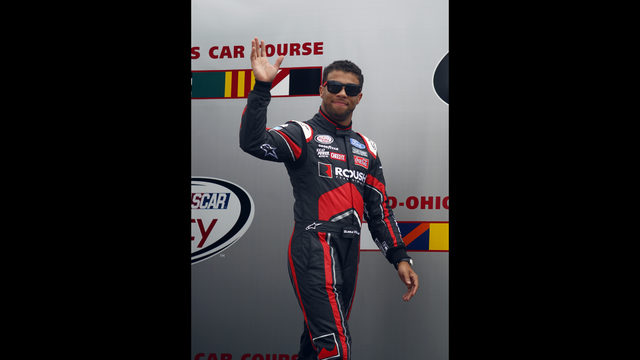 wallace to become first black driver in cup race since 2006 wjax tv. Black Bedroom Furniture Sets. Home Design Ideas