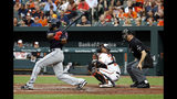 Jackson has 3 hits, 3 RBIs to carry Indians past Orioles 6-3