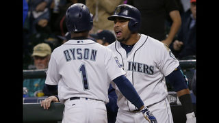 Dyson sparks Mariners to a 7-5 comeback win over Tigers