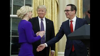 Trump, Pence to attend Treasury Secretary Mnuchin