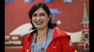 Brazilian super-volunteer is back _ at her 2nd Confed Cup