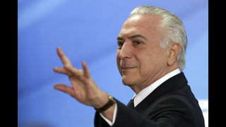Corruption charge increases pressure on Brazil