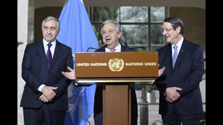 Back to Switzerland for Cyprus peace deal talks