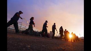 Firefighters battle wildfires in Arizona, Utah, California