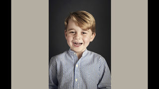 UK palace releases Prince George