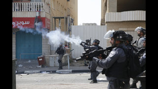 The Latest: Israeli minister: Palestinians must ask for calm