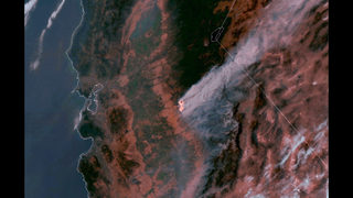 Crews stop spread of huge California wildfire near Yosemite