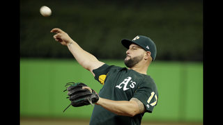 Mariners acquire Alonso in trade with Athletics